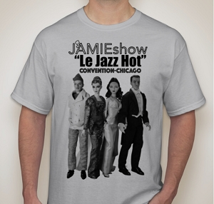 JAMIEshow Le Jazz Hot Convention T-Shirt
