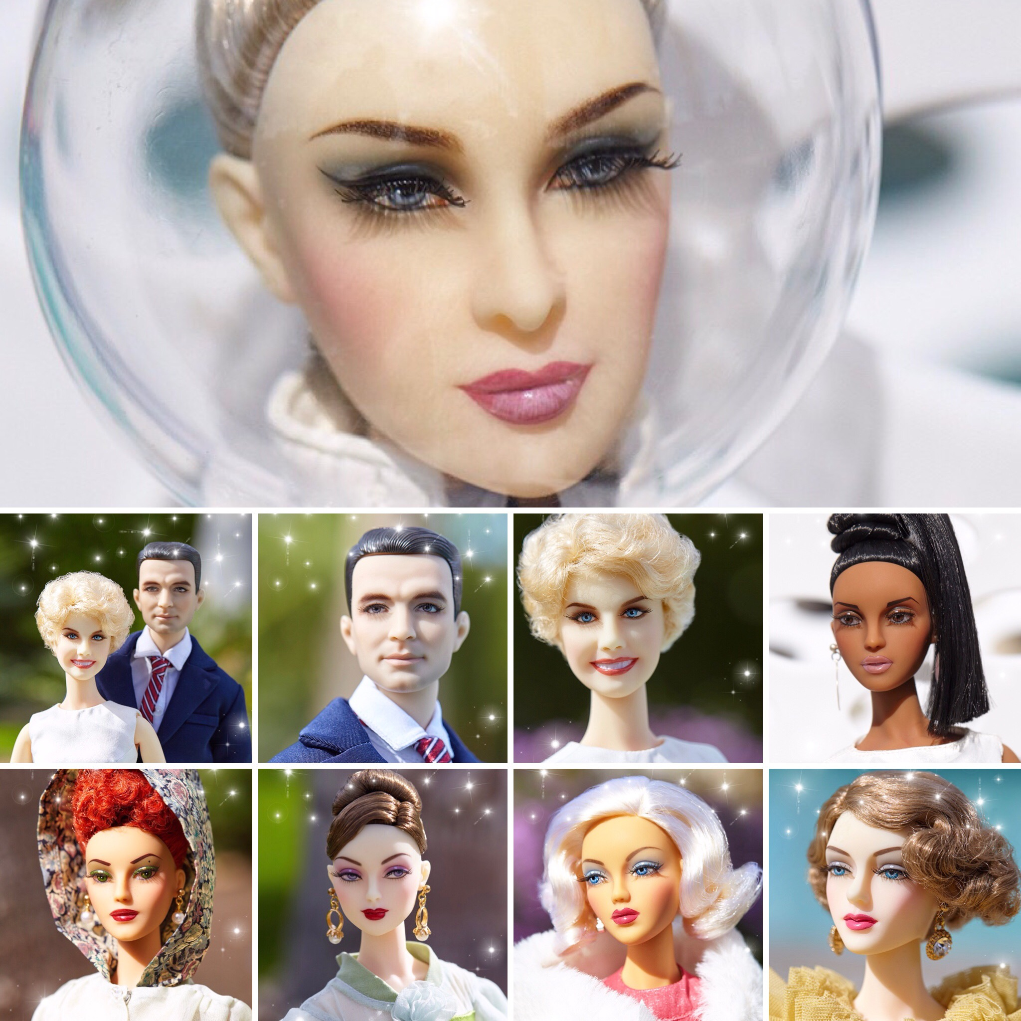 JAMIEshow Palm Springs Convention 2018 Dolls and Accessories