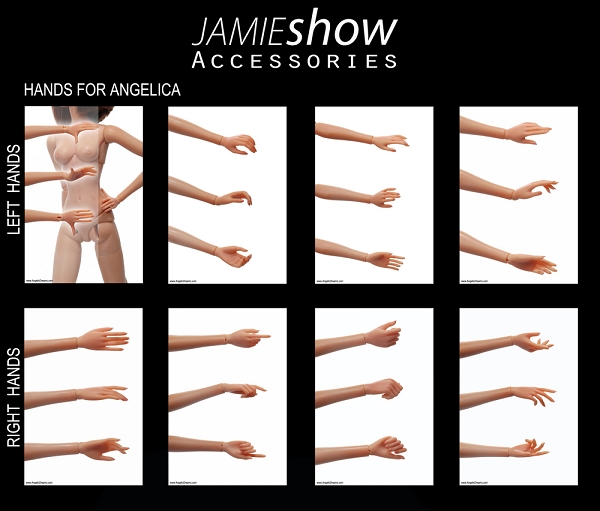 JAMIESHOW ANGELICA HANDS