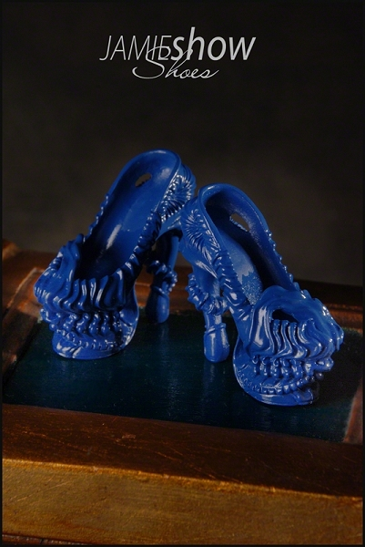 JAMIEshow Shoe Collection Gaga Shoe Cobalt