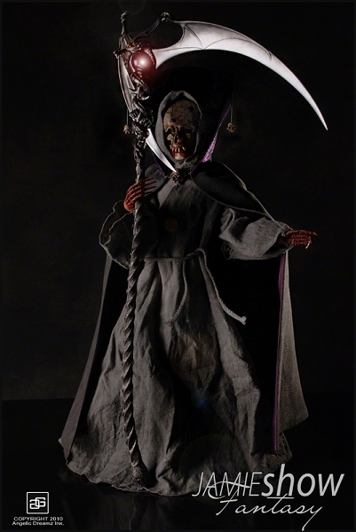 JAMIEshow Fantasy Collection Male Grimm Reaper Complete Outfit  (Please Note Doll Body Not Included)