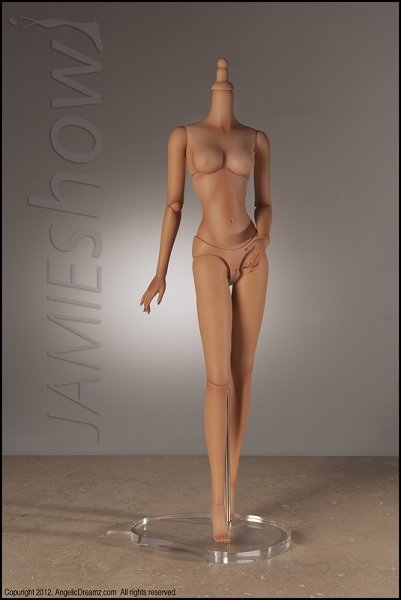 JAMIEshow, Studio J Collection, Replacement Body Tan Skin Tone (Angelica)