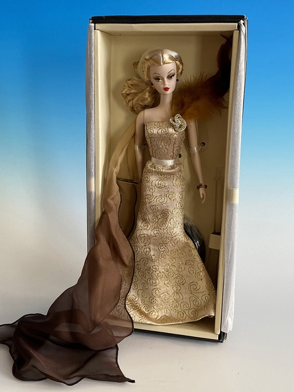 Dolce Vita Golden Goddess Barbie Ltd Edition 25 pieces Madrid Fashion Doll Convention