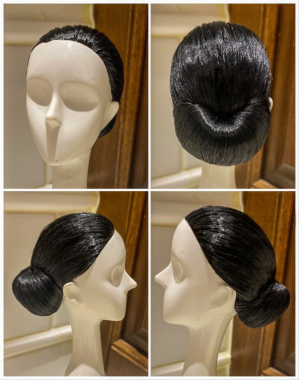 2019 Cuba Convention Wig  One Bun Wig