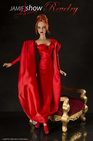 "JAMieshow 2012 Holiday Doll ""Revelry"""