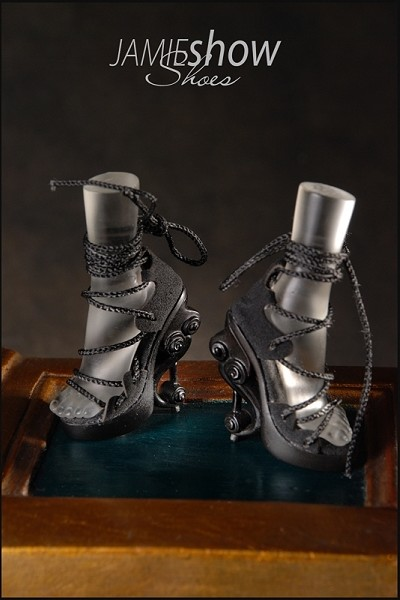 JAMIEshow, Studio J Collection, Black High Heel Musical Shoes