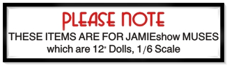 "JAMIEshow 12"" Fashion Ball Jointed Dolls"