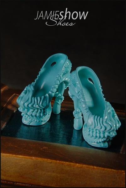 JAMIEshow Shoe Collection Gaga Shoe Turquoise